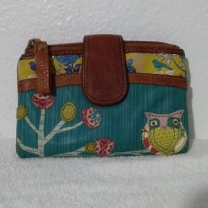Retired Fossil 'Kelly Icon' Owl Wallet